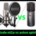 Rode nt2a vs aston spirit